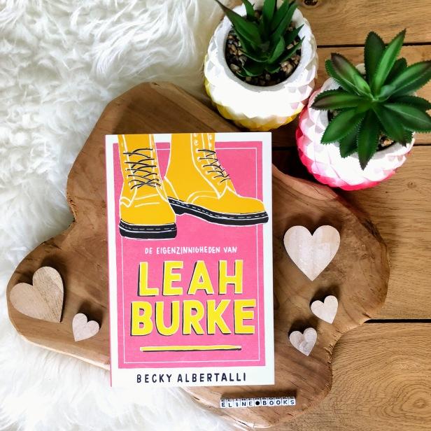 Recensie De eigenzinnigheden van Leah Burke